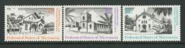 BL4-107 MICRONESIA 1985 MI 37-39 CHRISTMAS, WEIHNACHTEN, JUL, KERST, NATAL, NAVIDAD. MNH, POSTFRIS, NEUF**. - Micronesië