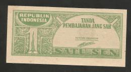 [NC] INDONESIA - 1 SEN (1945) - REPUBLIC - - Indonesia