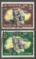 Singapore. 1961 National Day. Used Complete Set. SG 61-62 - Singapore (1959-...)