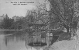 Paris 19ème Buttes Chaumont Entre Les Arbres - Arrondissement: 19