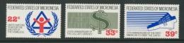 BL4-111 MICRONESIA 1987 MI 68-71 US DOLLAR, CAPEX 87. MNH, POSTFRIS, NEUF**. - Micronesië