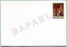Entier Postal - Australie - Kangourou (Recto-Verso) (JS)