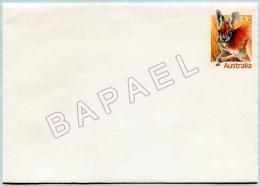 Entier Postal - Australie - Kangourou Roux (Recto-Verso) (JS)