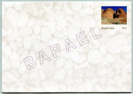 Entier Postal - Australie - Uluru National Park (Recto-Verso) (JS)