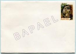 Entier Postal - Australie - Wombat à Nez Poilu (Recto-Verso) (JS)