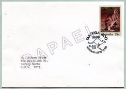 Entier Postal - Australie (Mosman) (15 July 1981) - Zoo De Taronga - Kangourou (Recto-Verso) (JS)