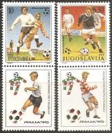 Yugoslavia,World Cup-Italy ´90. 1990.,vg-d,MNH - 1945-1992 Socialist Federal Republic Of Yugoslavia