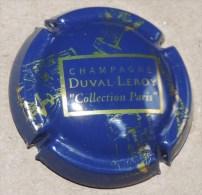 Capsule De Champagne -  Duval Leroy    - N°27 - Bleu Et Or - Champagne