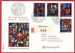 5 Lettres Recommandées + 1 Lettre / Diverses Thématiques Avec Blocs De Quatre Ou Séries - Timbres
