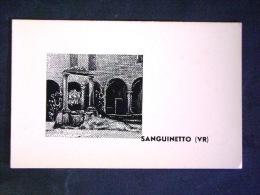 VENETO -VERONA -SANGUINETTO -F.G. LOTTO N° 356 - Verona