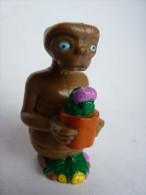FIGURINE E.T. AVEC POT DE FLEUR Publicitaire HEINZ - Figurines