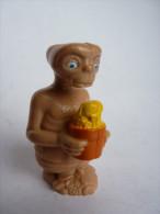 FIGURINE E.T. AVEC POT DE FLEUR LJN toys 1982