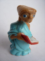 FIGURINE E.T. AVEC UN LIVRE LJN toys 1982