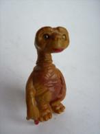 FIGURINE E.T. Rare AVEC ATTACHE SUR LE TETE, Tête Tournante Et Creux - Figurines