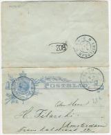 POSTBLAD  BUSSUM 1900  Gebruikt - Periode 1891-1948 (Wilhelmina)