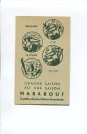COLLECTION LETTERAIRE MARABOUT  CALENDRIER CARNET  1951 EN EXCELLENT ETAT  ANTHROPOMORPHISME - Calendriers