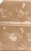 22958 GUERRE 1914 -Ohrdruf - Prisonnier Guerre Léon Peltier - Kriegsgefangenen -chambre Repas Cantine - Photo E Meiner - Guerre 1914-18