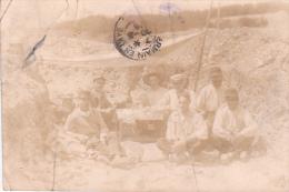 22964 GUERRE 1914 -Ohrdruf - Prisonnier Guerre Militaire Peltier - Kriegsgefangenen -travaux- Ph; E Meiner - Guerre 1914-18