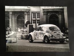 VW PHOTO FOTO COCCINELLE KEVER  12,5 17,5 Renaix Ronse Slalom - Automobili