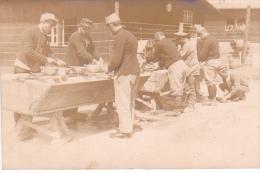 22966 GUERRE 1914 -Ohrdruf - Prisonnier Guerre Militaire Peltier - Kriegsgefangenen -toilette Lavage- Ph; E Meiner - Guerre 1914-18