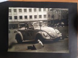 VW PHOTO FOTO COCCINELLE KEVER 18 X 24 RENAIX RONSE SLALOM - Automobili