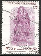 2001-ED. 3809-LAS EDADES DEL HOMBRE.VIRGEN DE LA CALVA-USADO - 1931-Hoy: 2ª República - ... Juan Carlos I
