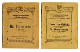Ferdinand Schrey - Stenographie: Der Tintenbube - Hans Im Glück - Ein Missverständnis - Boeken, Tijdschriften, Stripverhalen