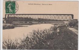 BAULAY PONT SUR LA SAONE 1913 ANIMEE TBE - France