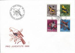 Lot  De 4 Lettres  Pro Juventute 1965-1964-1967 - Pro Juventute