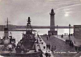 C-1601 Cartolina Molfetta - Faro E Porto - Tramonto - Molfetta