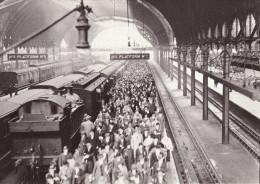 Railway Photo Card GWR 2221 2223 PADDINGTON 1926 4-4-2T Loco General Strike - Picture Cards