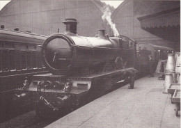Railway Photo Card GWR Star 4049 Princess Maud Paddington 1923 4-6-0 Loco - Picture Cards