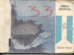 """CARTILLA NAVAL: """"ARMADA ARGENTINA"""" A COLOR!GECKO. - Other"""