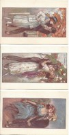 3 Cartes Postales Illustrées Zandrino, Neuve - Zandrino