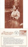 Postcard WW1 Women Engineering Worker Engineers Nostalgia Repro - Militaria
