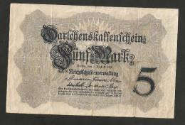 DEUTSCHES REICH / GERMANY - 5 MARK (1914) - [ 2] 1871-1918 : Impero Tedesco