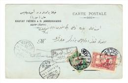 Carte D´Alep Pour Galata - - Syrien