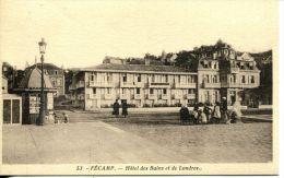 N°36909 -cpa Fecamp -Hôtel Des Bains Et De Londres- - Fécamp