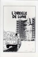 TINTIN ET MILOU - GOUX - Oreille De Lune    (64389) - Autres Illustrateurs