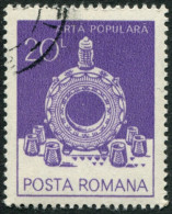 Pays : 410 (Roumanie : République Socialiste)  Yvert Et Tellier N° :  3431 (o) - Usado