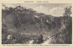 Chamonix - Grand Hôtel Ducroz - Vue Sur Le Mont Lachat Et Le Pavillon  (4F184 - Chamonix-Mont-Blanc