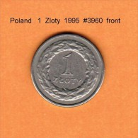 POLAND   1  ZLOTY  1995   (Y # 282) - Polen