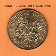 KENYA    10  CENTS  1984  (KM # 18) - Kenya
