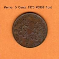 KENYA    5  CENTS  1975  (KM # 10) - Kenya