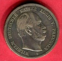 PRUSSE GUILLAUME 1876 TB+ 45 - [ 2] 1871-1918 : German Empire