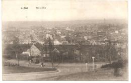 RARE !!: CPA LIEGE, Panorama 1918 Feldpost (Edition Kirch Forgeur) Avec Cachet Militaire Scharfschützen Kompagnie - Liege