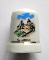 De A Coudre En Porcelaine Carcassonne - Dedales