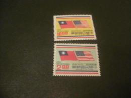 K8787- Set MNH China 1976 -SC. 1995-1996- Flags Of China And US - Nuovi