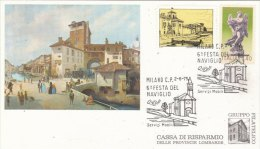 6 FESTA DEL NAVIGLIO -MILANO    2-6-1975   (70709) - Affrancature Meccaniche Rosse (EMA)