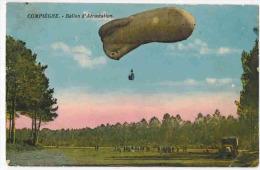 """COMPIEGNE MILITARIA : """" Ballon D'Aérostation """" Soldats Camion - Militaria"""